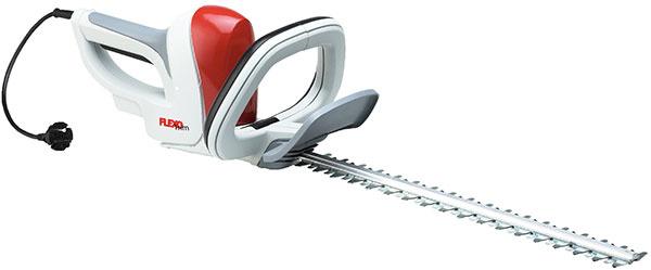 Ľahké plotové nožnice v modernej červeno bielej farebnej kombinácii.