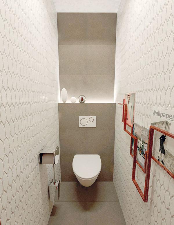 Doplnky do WC so základnými rozmermi by mali byť čo najskladnejšie. Nemusíte sa však vzdať ani stojana na časopisy (ktorý je veľakrát natoalete opomenutý adodatočne vyhľadávaný), ideálne si zvoľte nástenný. Nezavadzia pri upratovaní anezaberá miesto. Podobným spôsobom je možné vybrať ostatné doplnky ako držiak na toaletný papier akefu (Axor Urquiola).