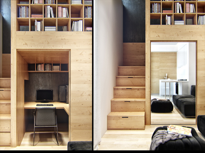 Malometrážny byt s veľkou plochou