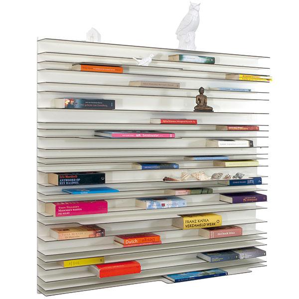 Nástenný regál Spectrum Paperback, 60 × 60 × 20 cm, 310,43 €, www.designpropaganda.com