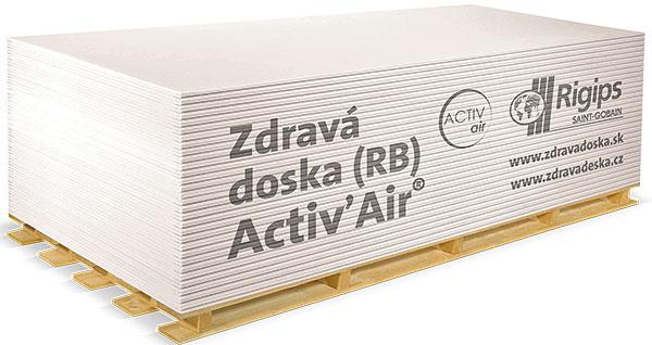 Sadrokartónová doska Activ'Air® – naozaj zdravé bývanie
