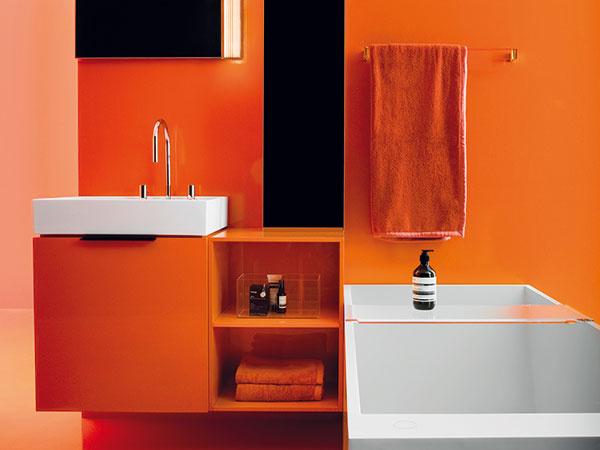 Dizajnové prvky v kombinácii spestrofarebnými odtieňmi
