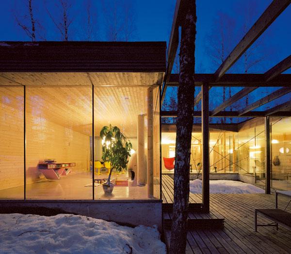 Ako stavajú a bývajú Fíni
