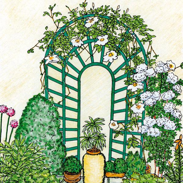 Malá záhrada potrebuje veľký nápad