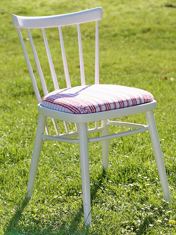 Nová stolička zo starej