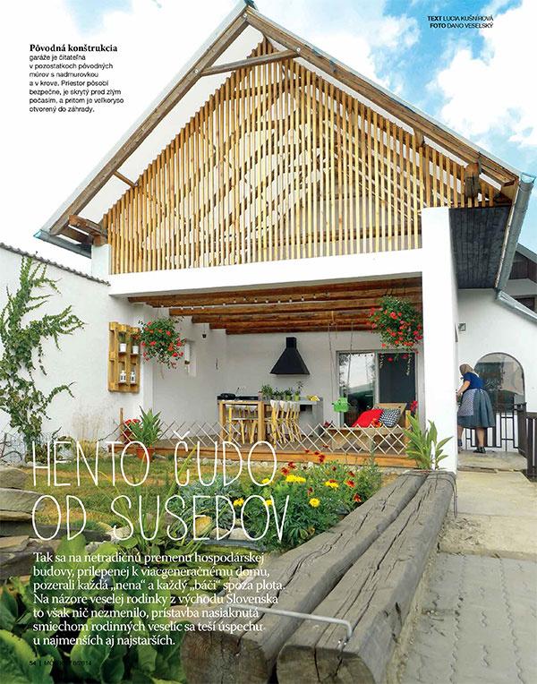 Dovolenkové vydanie časopisu Môj dom v predaji aj s darčekom zadarmo!