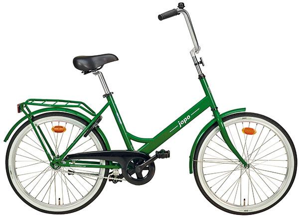 Bicykel Helkama Jopo, tradičný fínsky dizajn zroku 1965, spedálovým brzdením, priemer kolesa 41 cm, váha 13,7 kg, 479 €, www.finnishdesignshop.com