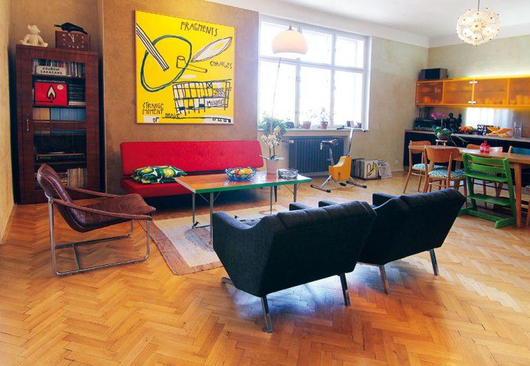Zo starého 2-izbového bytu vyťažili priestor pre 4-člennú rodinu