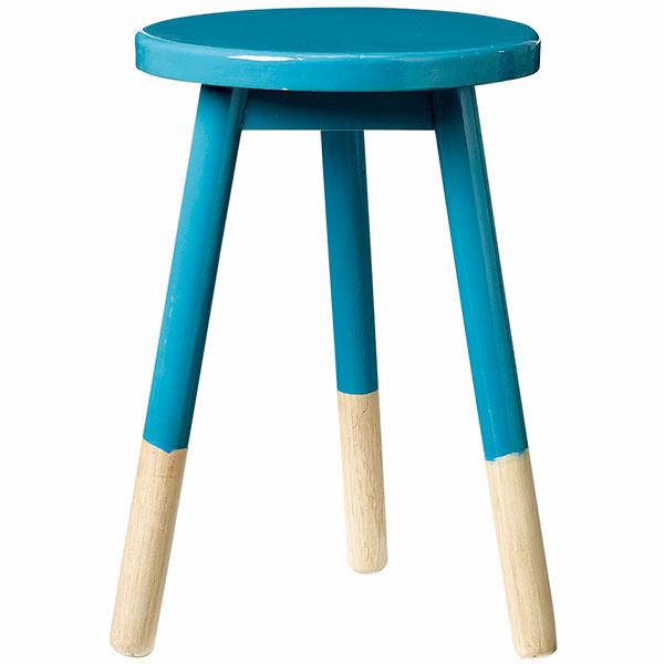 Drevená stolička Fir petrol, 89,68 €, www.nordicday.sk
