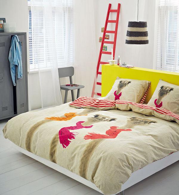 Obliečky spštrosmi Covers and Co (zopačnej strany červeno-biele pásiky), 44,66 €, www.zoot.sk
