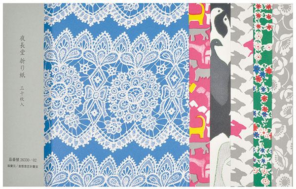 Origami papiere, 30 listov, 17,5 × 17,5 cm, 7,50 €, www.ljus.cz