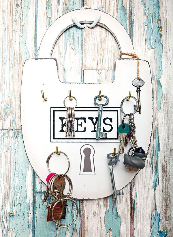 Vešiak na kľúče Keys, 11,86 €, www.apropos-shop.sk