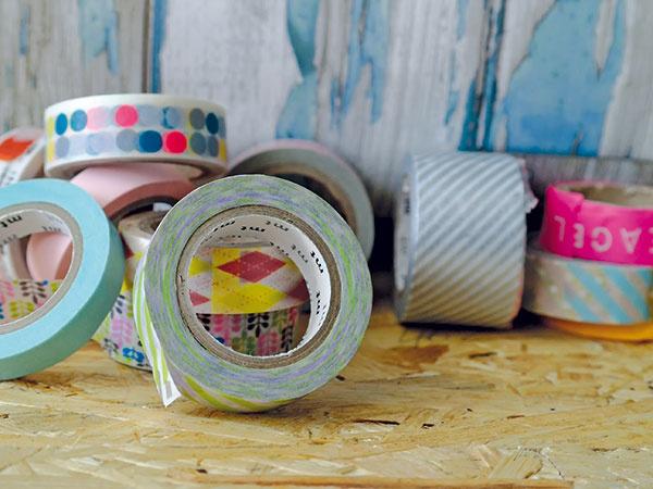 Washi pásky – spoznajte originálnu a štýlovú súčasť interiérov