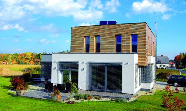 Najlepší dom Moravskosliezskeho kraja je vápenno-pieskový