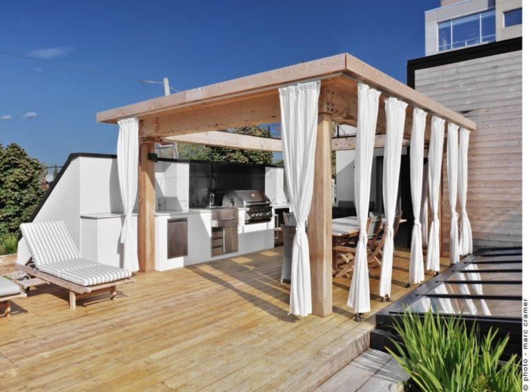 Obytná terasa s dispozíciou a vyhotovením, za ktoré by sa nemusel hanbiť ani žiadny byt