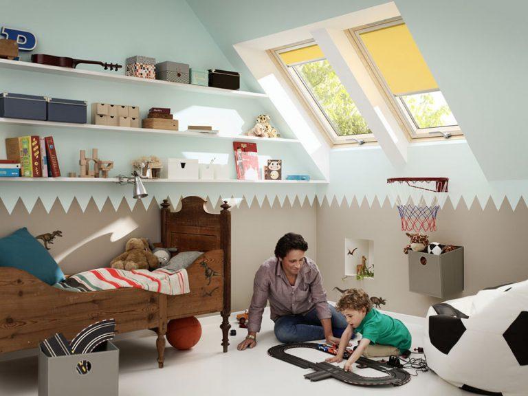 Ako vytvoriť deťom čarovné miesto v podkroví?
