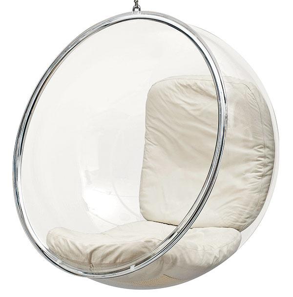 Bublina Adelto Bubble od dizajnéra Eera Aarnia, 105 × 108 × 83 cm, 4 125 €, www.designpropaganda.com