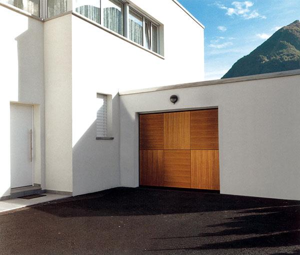 Teleskopické garážové brány OVERLAP