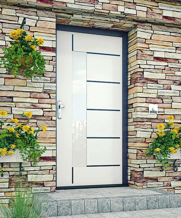 Plastové dvere Brigitte od spoločnosti Perito
