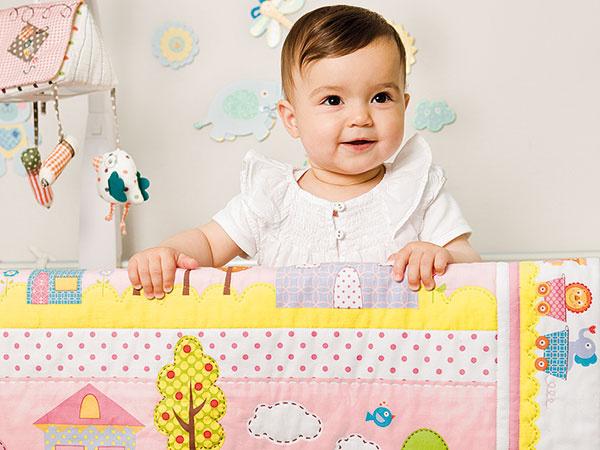 Urobte pre svoje deti originálnu patchworkovú deku