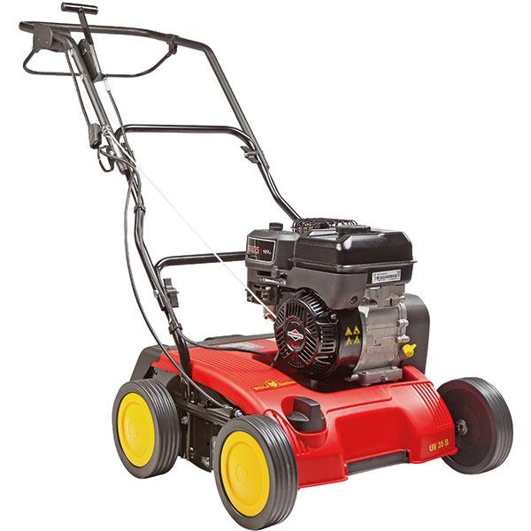 Vertikutátor UV 35 BS benzínový stroj pre stredné a väčšie pozemky, výrobcu Wolf Garten, cena 481 Euro