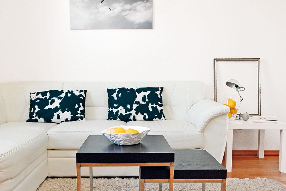 Byt v minimalistickom štýle, z ktorého vyžaruje pokoj