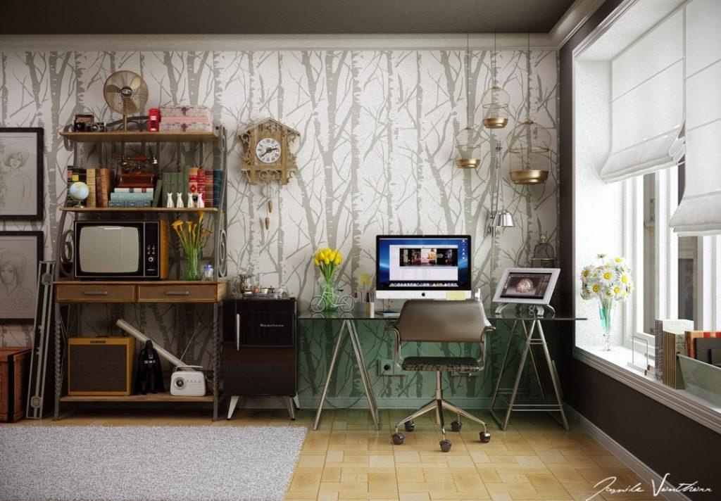 7 tipov, ako sa doma pri práci nezblázniť