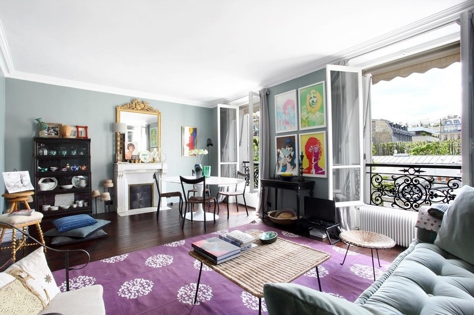 15x parížsky interiér