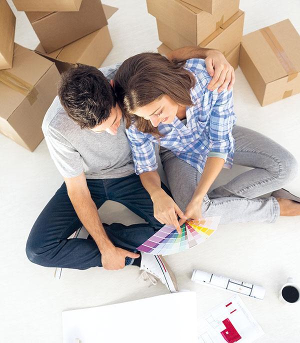 4 kroky, ako si poradiť so zariadením svojho prvého bytu