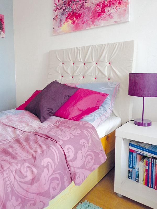 Vyrobte si originálne čelo postele