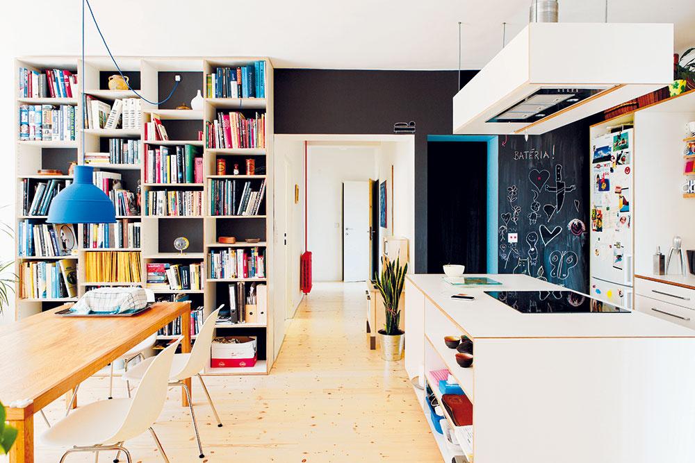 Prízemný byt, ktorý rástol a prispôsoboval sa rozrastajúcej rodine