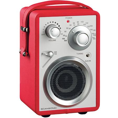 5x Prenosné rádio Scansonic