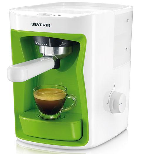 1x Kávovar na espresso Severin