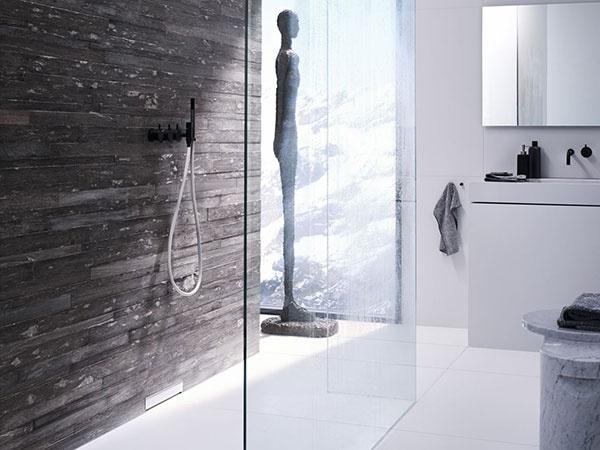 Hladký odtok sprchy