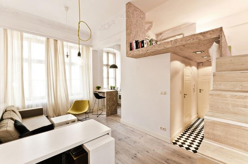 Aj v byte s rozlohou 29 metrov štvorcových sa dá bývať plnohodnotne a štýlovo
