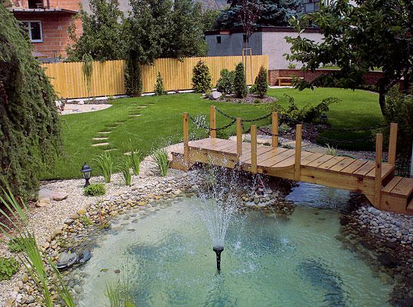Stavebné prvky rekreačnej záhrady