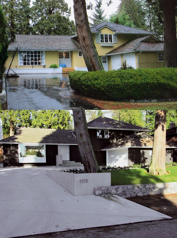 Typický predmestský bungalov vo Vancouveri