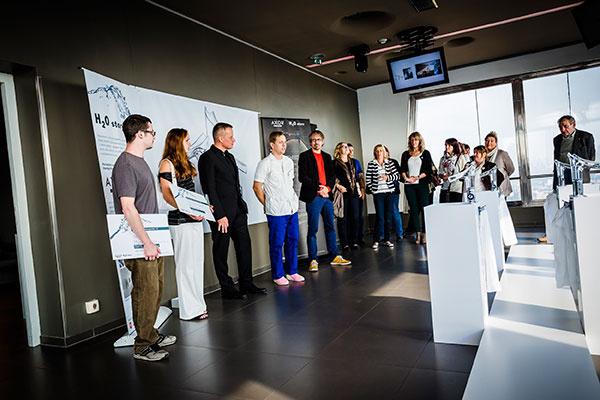 Víťazná práca 3. ročníka Axor H2O story zaujala na Designbloku 2014