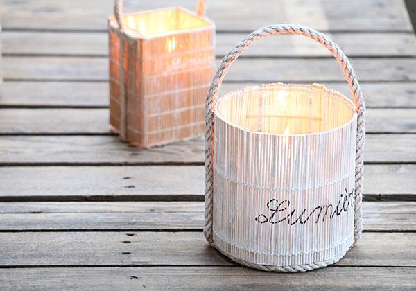 Prehrejte si domov svetlom zvlastnoručne zostrojených svietnikov