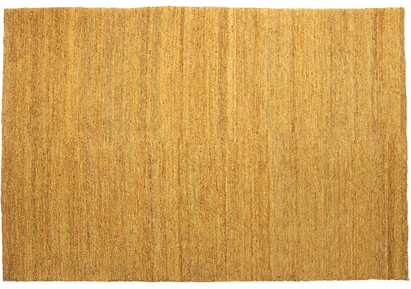 Jutový koberec Nanimarquina Earth, okrová farba, ručne tkaný, 170 × 240 cm, 2 520 €, Triform Factory