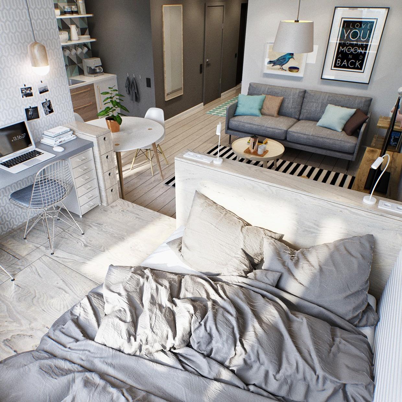 Návrh bytu pre mladý pár