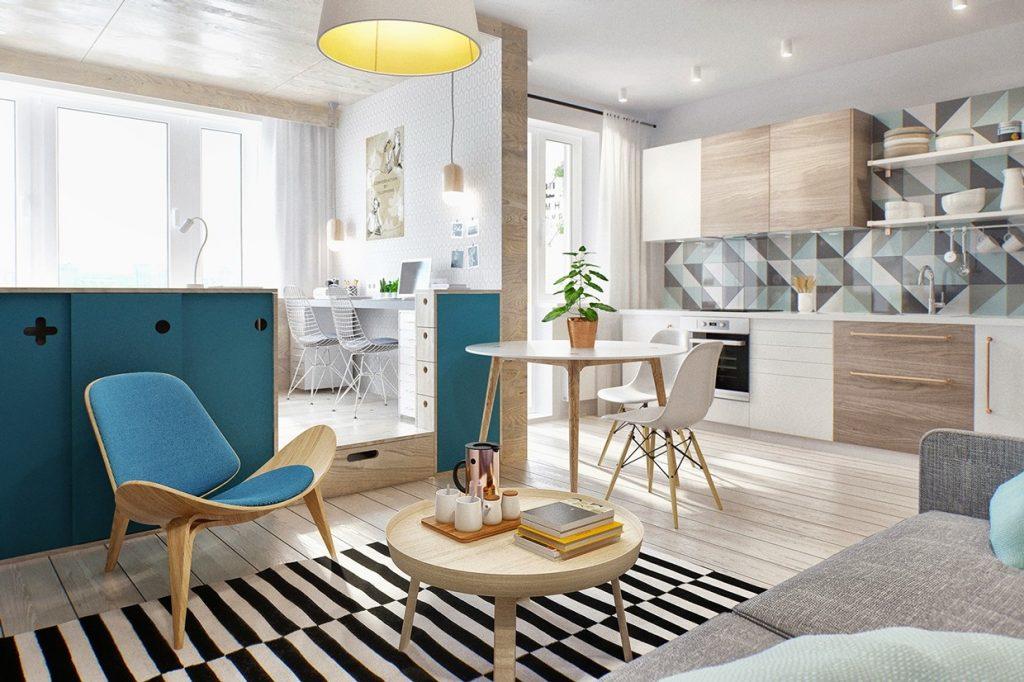 Návrh sviežeho a funkčného bytu pre mladý pár