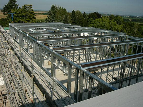 Nízkoenergetické domy s inovatívnym konštrukčným systémom Lindab Construline
