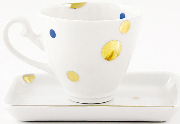 Ručne vyrábaná porcelánová súprava, priemer/výška šálky: 6 cm/5,5 cm, od 30 €, www.etsy.com/shop/silishop