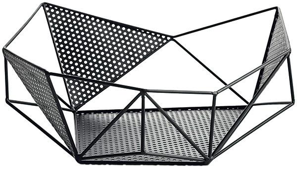 Nádoba splochým dnom Graphic, čierne železo, 10 × 30,5 × 32 cm, 55 €, BoConcept, Light Park