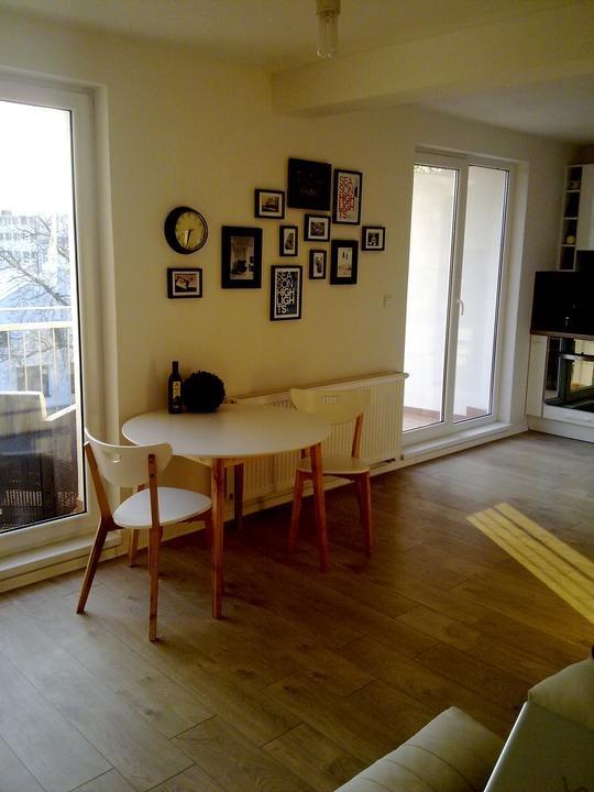 Návrh obývacej izby malého mezonetu