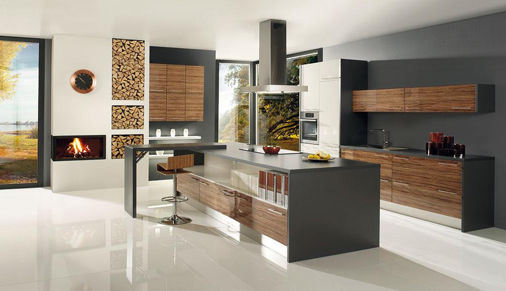 Dizajnový a funkčný doplnok kuchyne