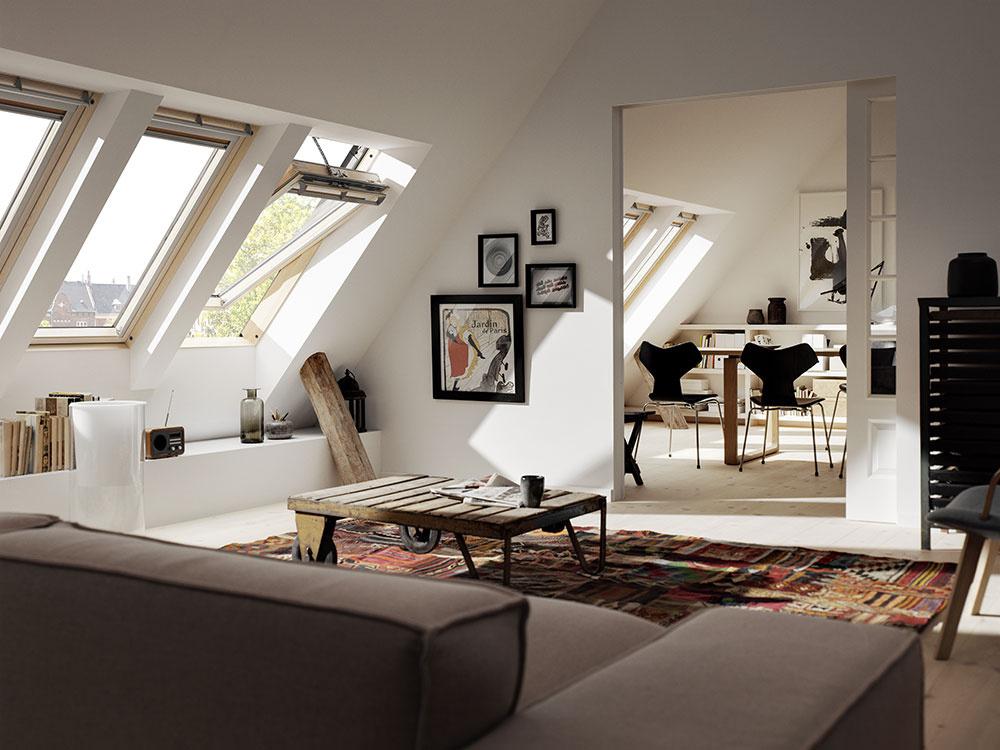 Pri strešných oknách treba sledovať ich energetickú bilanciu.