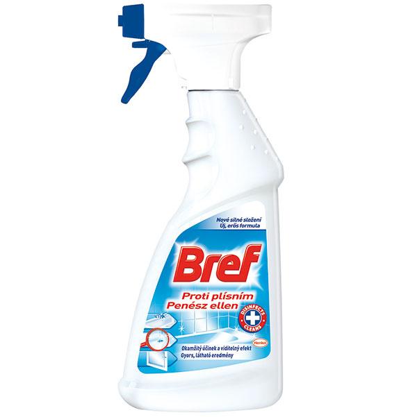 Tekutý čistiaci prostriedok Henkel Bref proti plesniam, dezinfekcia, odstraňovanie nečistôt aplesní, 500 ml, 3,49 €