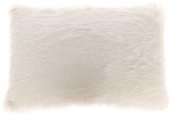 Huňatý vankúš Blanc, 30 × 50 cm, 50,22€, www.bellarose.sk